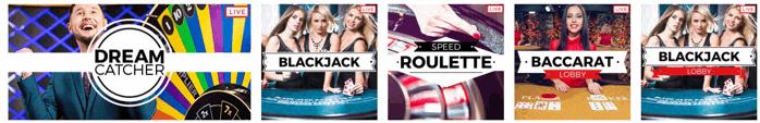 32Red Live Casino Games Screenshot