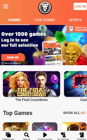 leovegas casino mobile site