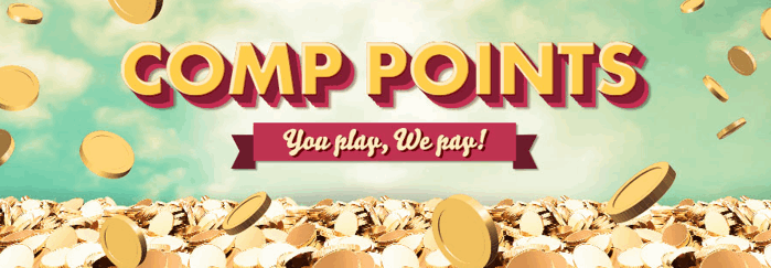 777 Casino Comp Points Screenshot