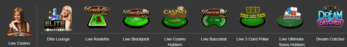 888 Live Casino Screenshot