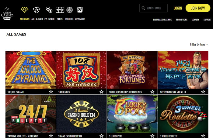 aspers screenshot