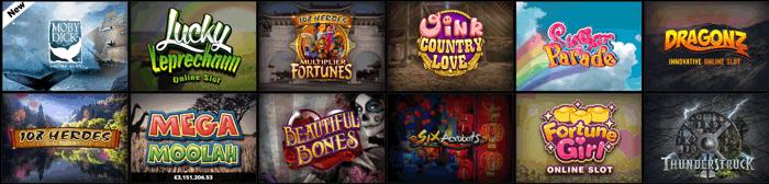 Betway Casino Games Screenshot