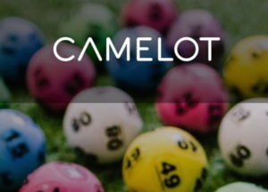 camelot group logo and lottery balls