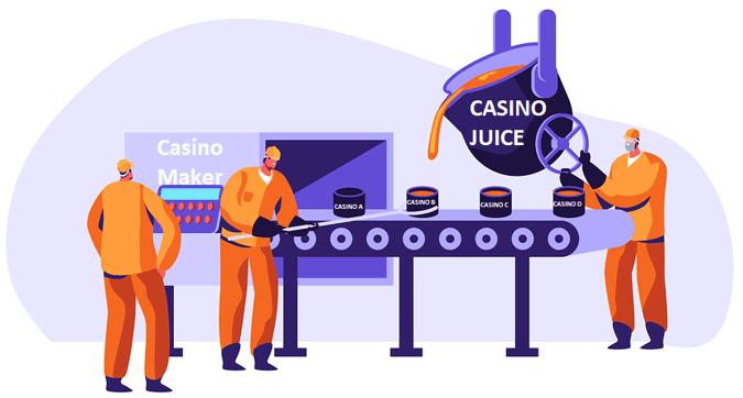 casino production line