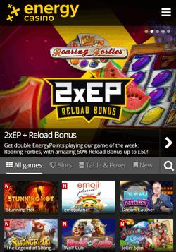 Energy Casino Mobile