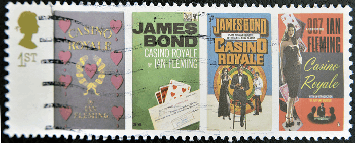 james bond casino royale stamp