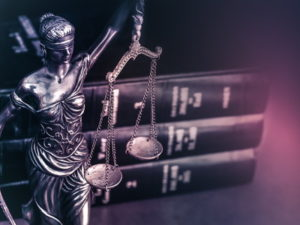 law lady justice and legal books