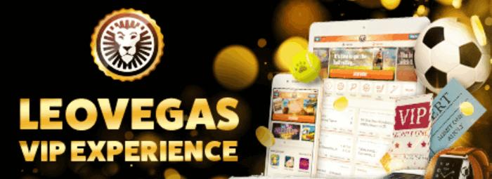 LeoVegas Casino VIP Screenshot