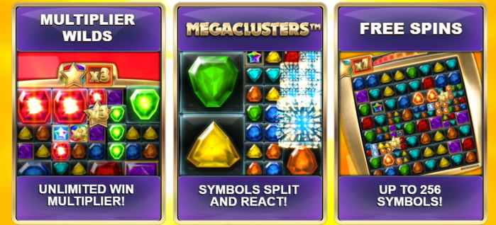 megaclusters features