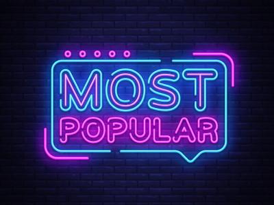most popular in neon lights