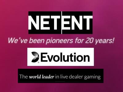netent evolution merger