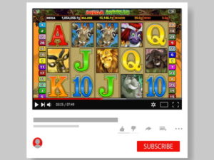 streaming online slot game on youtube