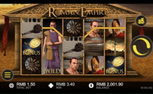 video slots roman empire