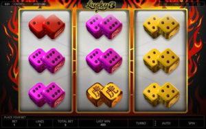 videoslots lucky 3 dice