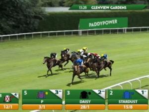 virtual horse race