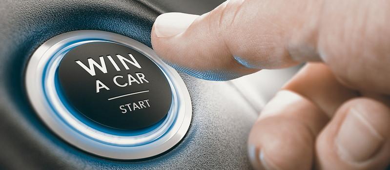 win a car start button